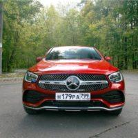 24496 Красная черта. Mercedes GLC-Class Coupe (C253)
