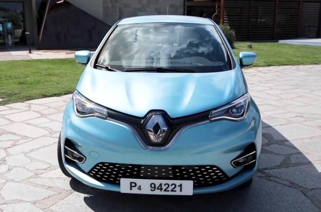 24372 Новый Renault ZOE - когда все самое интересное находится внутри. Renault ZOE