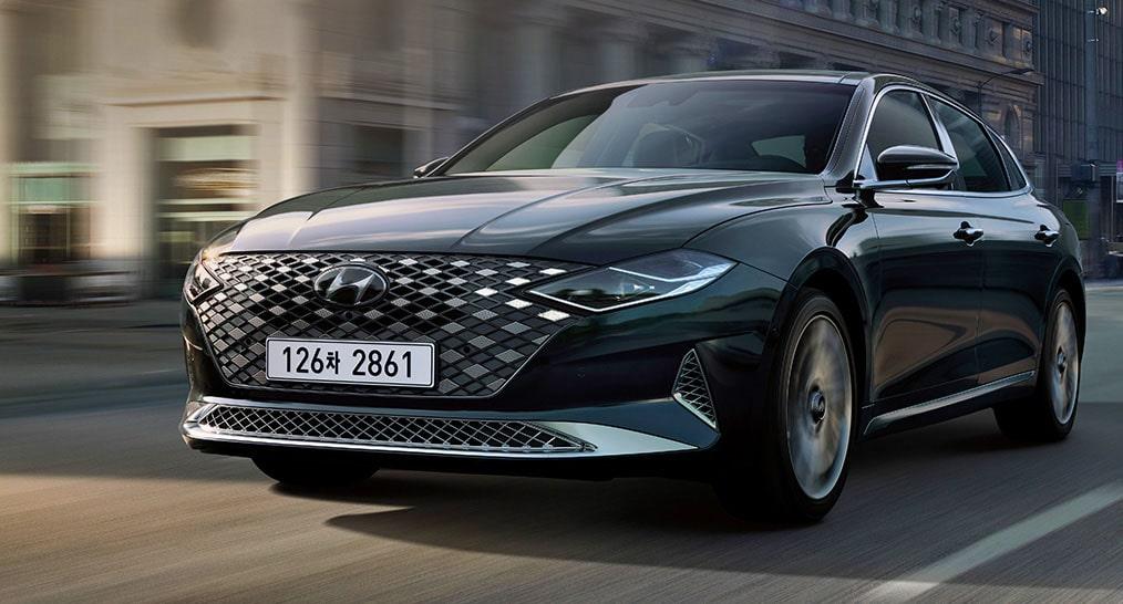 24533 Описание автомобиля Hyundai Grandeur 2020