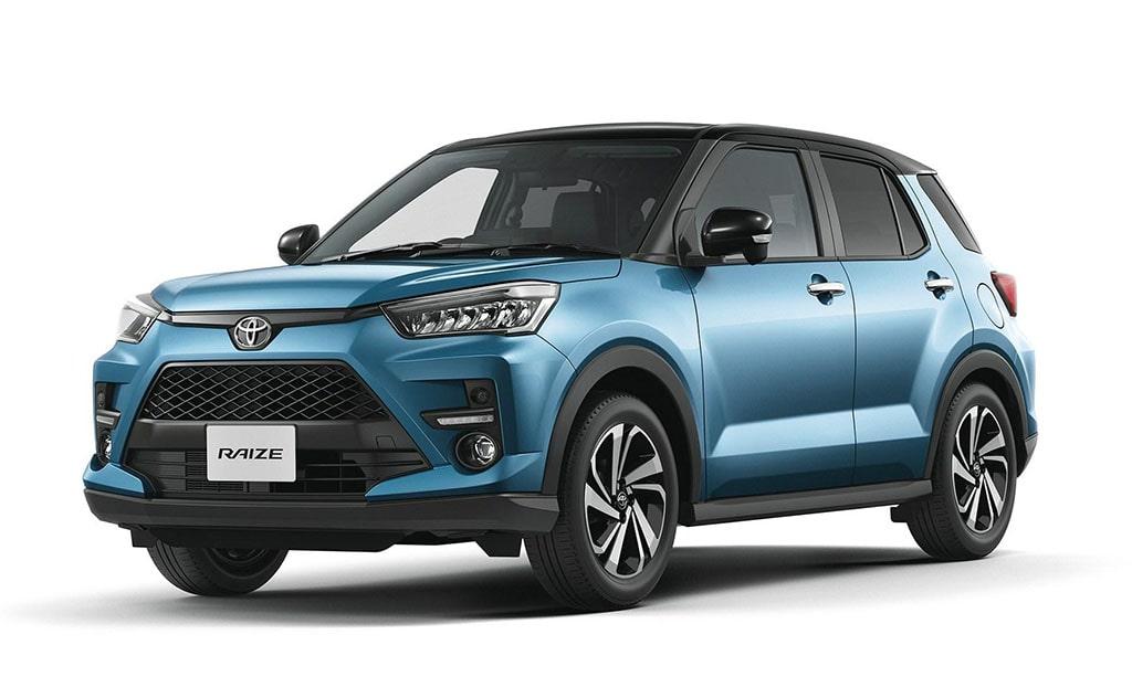 Описание автомобиля Toyota Raize 2020
