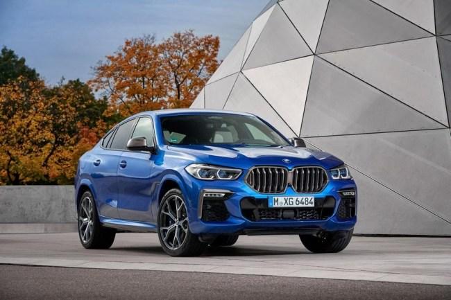 Привидение с моторищем. BMW X6 (G06)
