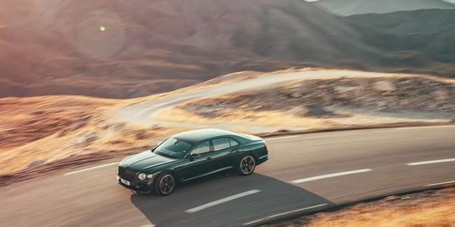 24625 Пневма, цифра и крылья с подсветкой. Bentley Flying Spur