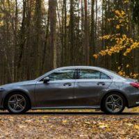24639 Самый дешевый седан «Мерседес» против стереотипов. Mercedes A-Class Sedan (V177)
