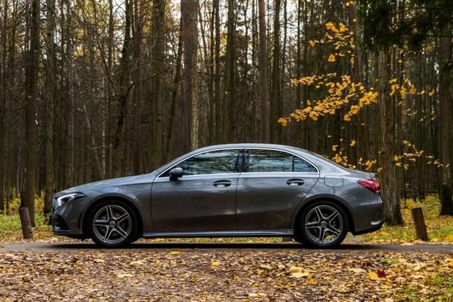 Самый дешевый седан «Мерседес» против стереотипов. Mercedes A-Class Sedan (V177)