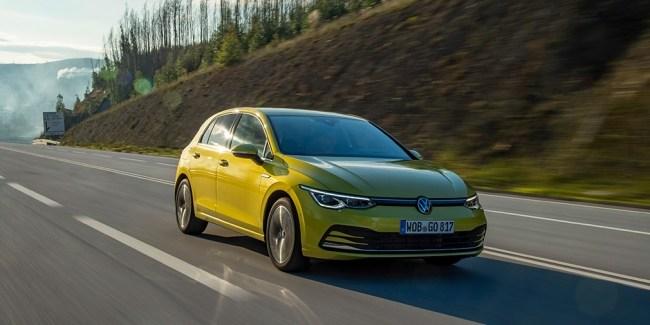 24631 Тактильное общение. Volkswagen Golf