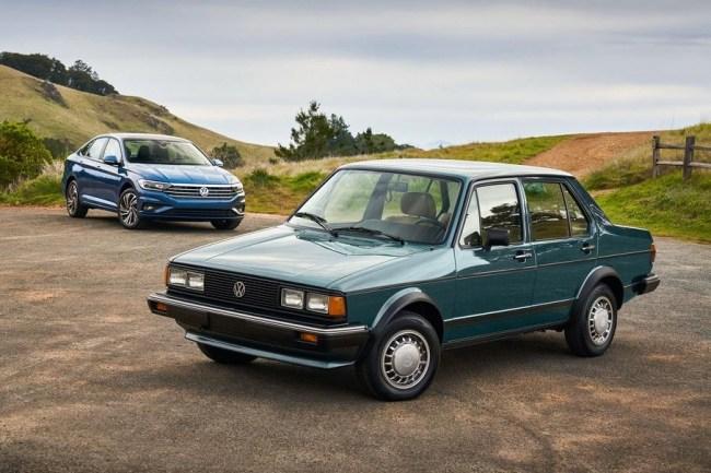 Мечта таксиста или тизер восьмого Гольфа?. Volkswagen Jetta