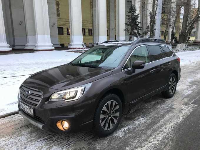 Subaru Outback: На повышение