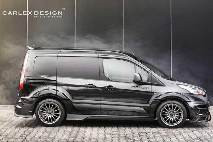 Ателье Carlex Design представило агрессивный Ford Transit