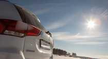 Тест драйв Mitsubishi Outlander GT  ввинчиваемся в поворот