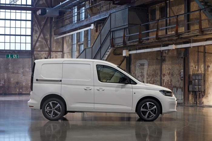 Новый Volkswagen Caddy: красота работе не помеха