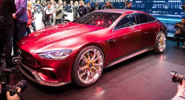 Немцы представили Mercedes-AMG GT Concept