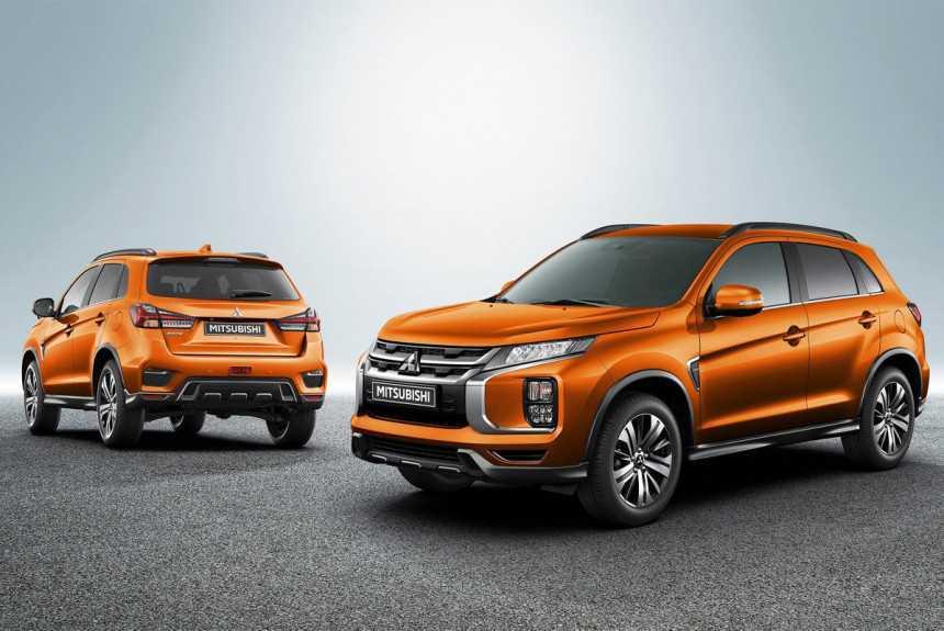 Объявлены российские цены на обновленный Mitsubishi ASX