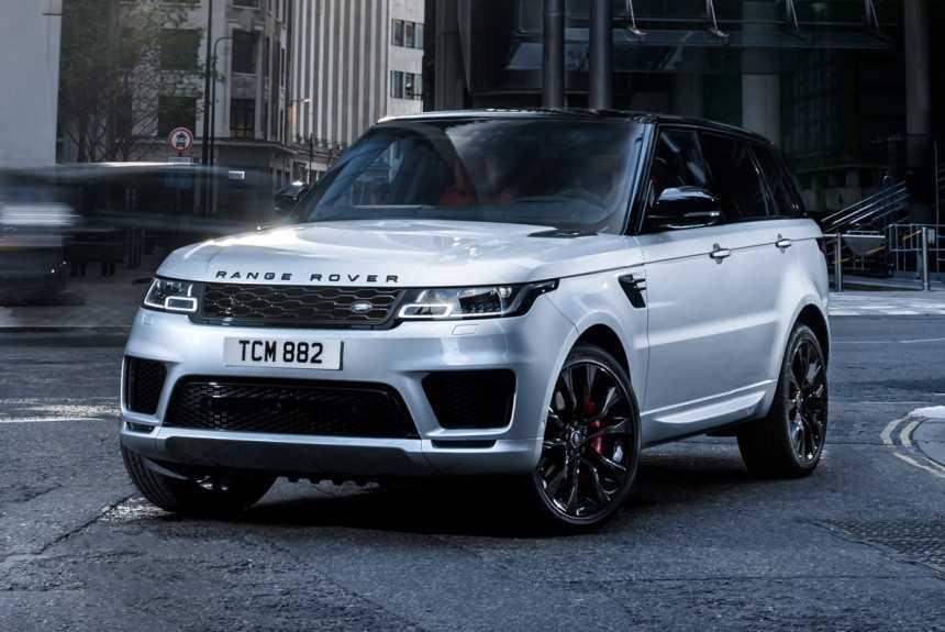 Внедорожники Range Rover поменяют дизель V8 на гибрид