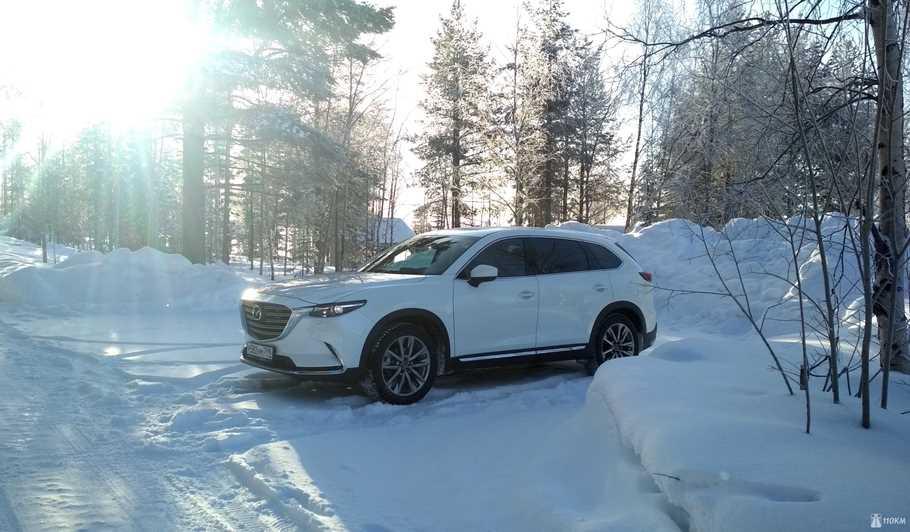 Тест драйв обновленного Mazda CX 9  небесное притяжение