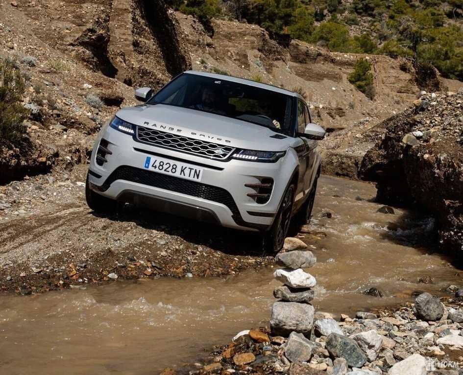 Тест-драйв нового Range Rover Evoque: чистая линия