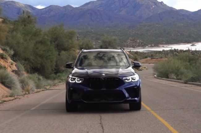 BMW X5 M – один из самых быстрых кроссоверов на планете. BMW X5 M (F95)