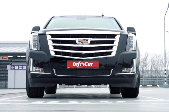 Cadillac Escalade. Когда три тонны разгоняются до сотни за 6 секунд. Cadillac Escalade