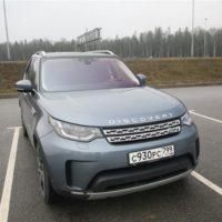 24931 Цифрой по бездорожью. Land Rover Discovery 5