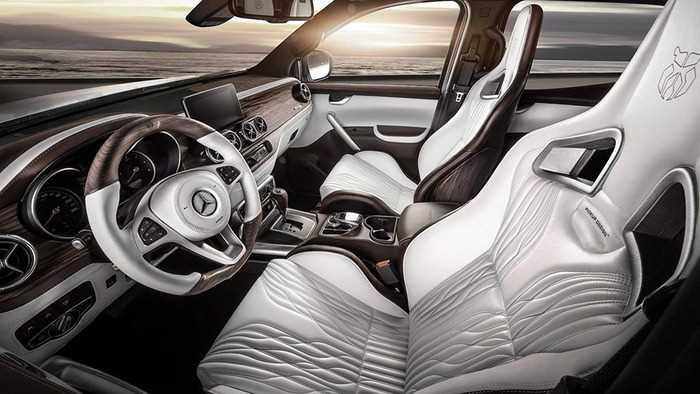 Пикапу Mercedes X-Class добавили роскоши