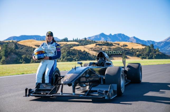 Чэдвик тестировала в Новой Зеландии машину Rodin FZED
