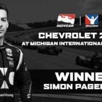 IndyCar: Пажено выиграл виртуальную гонку в Мичигане