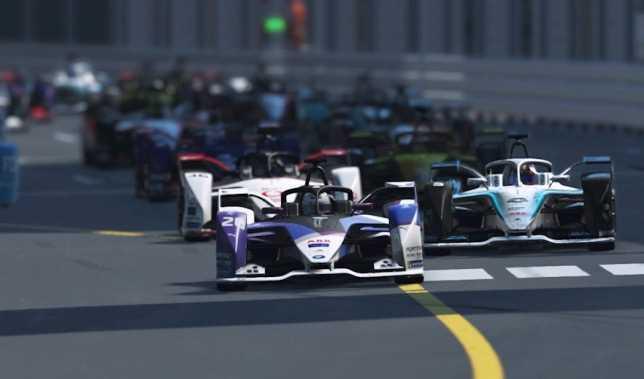 Формула E: Гюнтер стал победителем виртуальной гонки