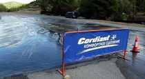 Шины Cordiant Comfort 2  успеть оттормозиться в воде