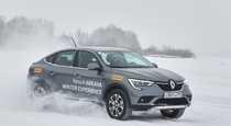 Зимний тест драйв Renault Arkana  коньки подпевают  звеня