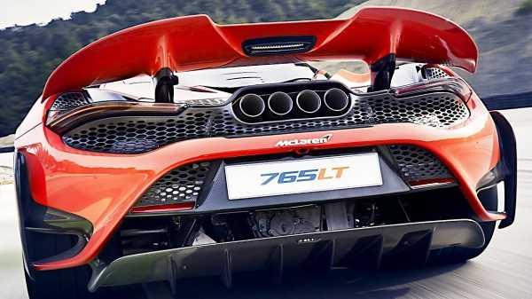26363 The New 2021 McLaren 765LT is a Real Demon!!!