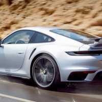 2021 Porsche 911 Turbo S 992 – Adaptive Aerodynamics