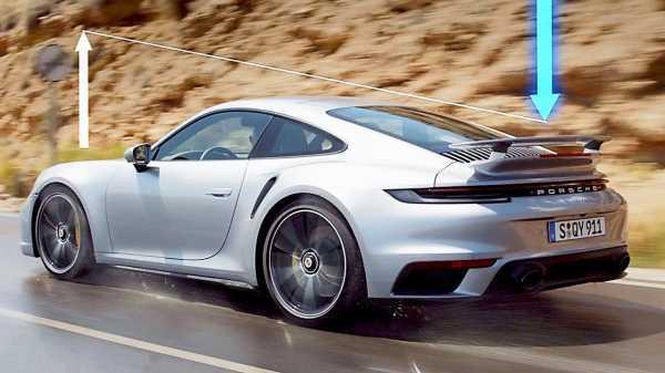 30068 2021 Porsche 911 Turbo S 992 – Adaptive Aerodynamics