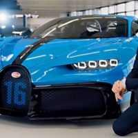 25778 Bugatti Chiron Pur Sport   Real-life Presentation in the Bugatti Factory   Specs, Design, Driving
