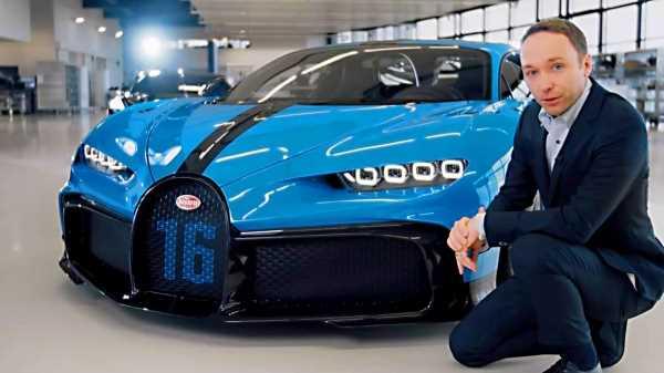 25778 Bugatti Chiron Pur Sport | Real-life Presentation in the Bugatti Factory | Specs, Design, Driving