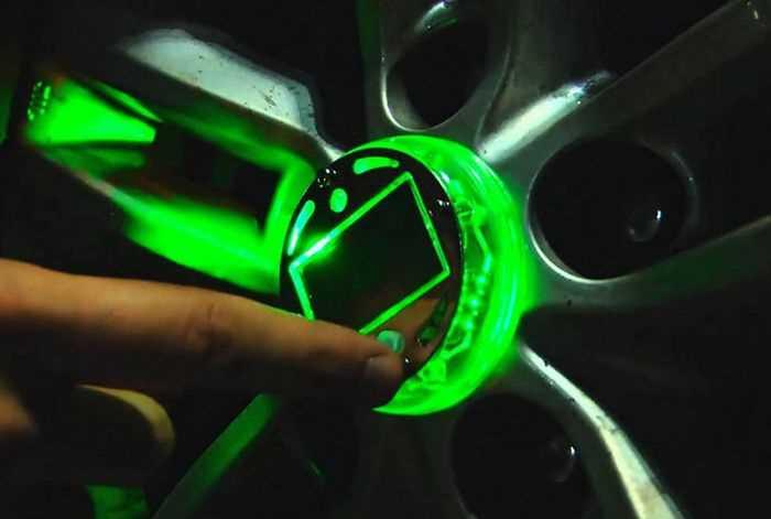 Светодиодная подсветка колес авто своими руками