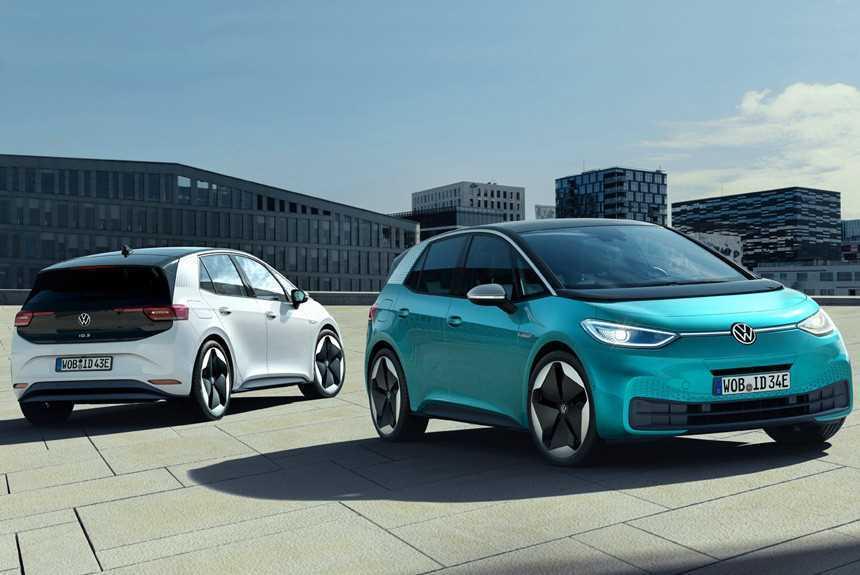 Электромобили Volkswagen ID.3 задержатся из-за проблем с софтом