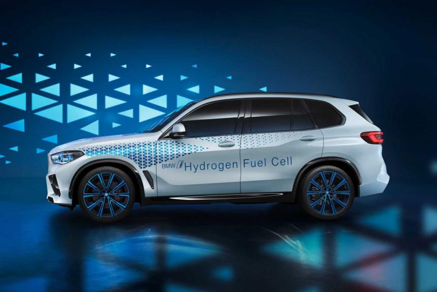 Водородный BMW X5: только задний привод