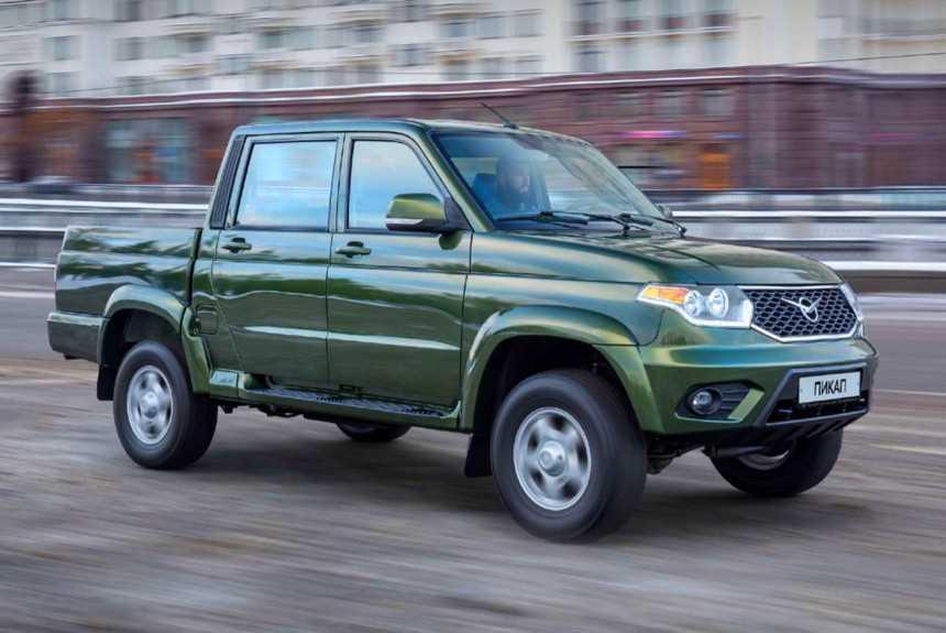 Объявлены цены на УАЗ Пикап с «автоматом»