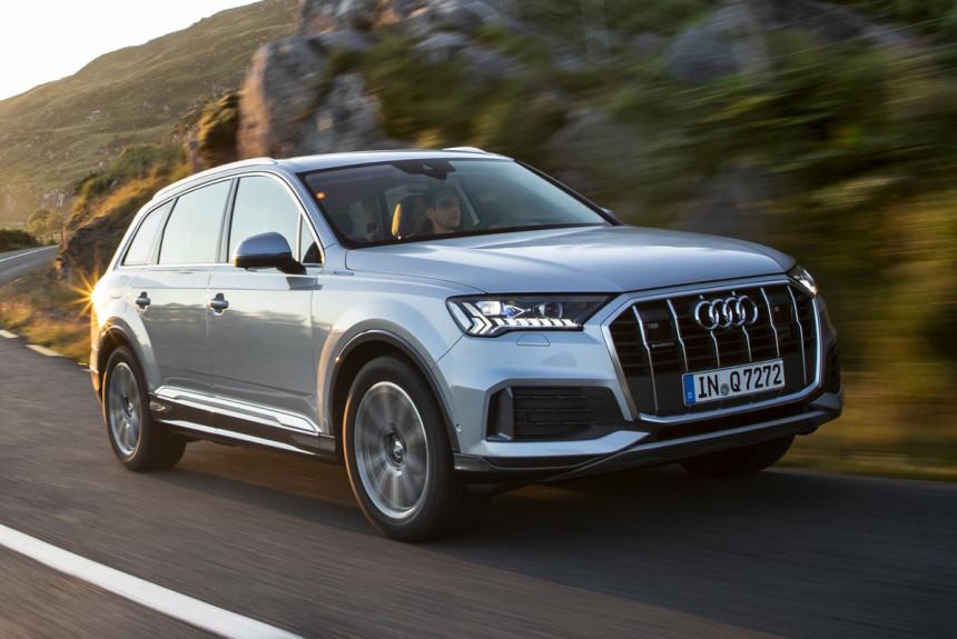 Обновленный Audi Q7 вышел на российский рынок