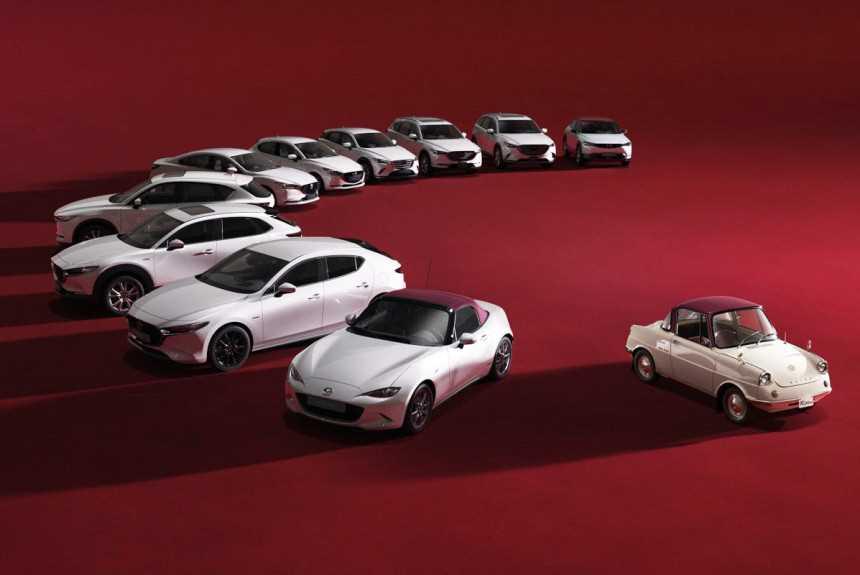 Mazda подготовила спецверсии моделей к столетнему юбилею