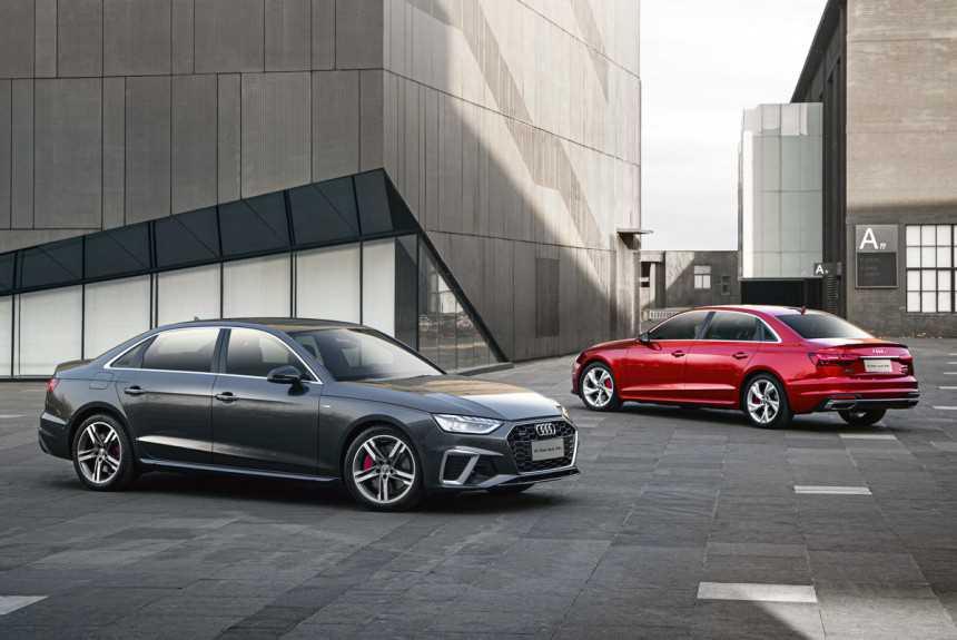 Длиннобазный седан Audi A4L: рестайлинг