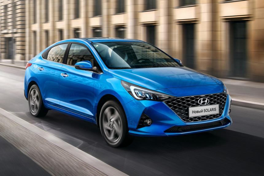 Hyundai Solaris обзавелся самой богатой версией Prosafety