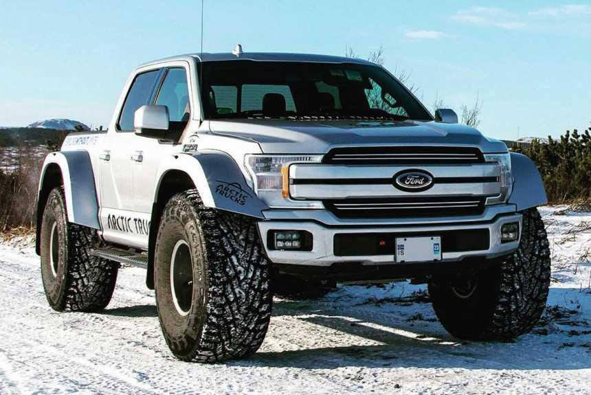 Пикап Ford F-150 Arctic Trucks готовится покорять Заполярье