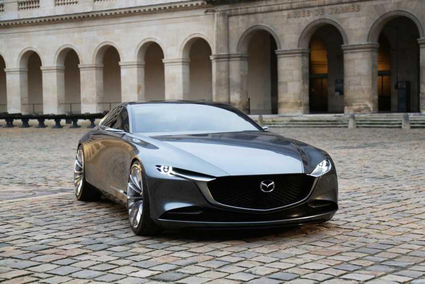 Старшие модели Mazda составят конкуренцию BMW?