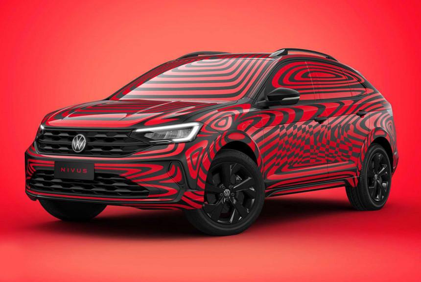 Паркетник Volkswagen Nivus дебютировал в камуфляже
