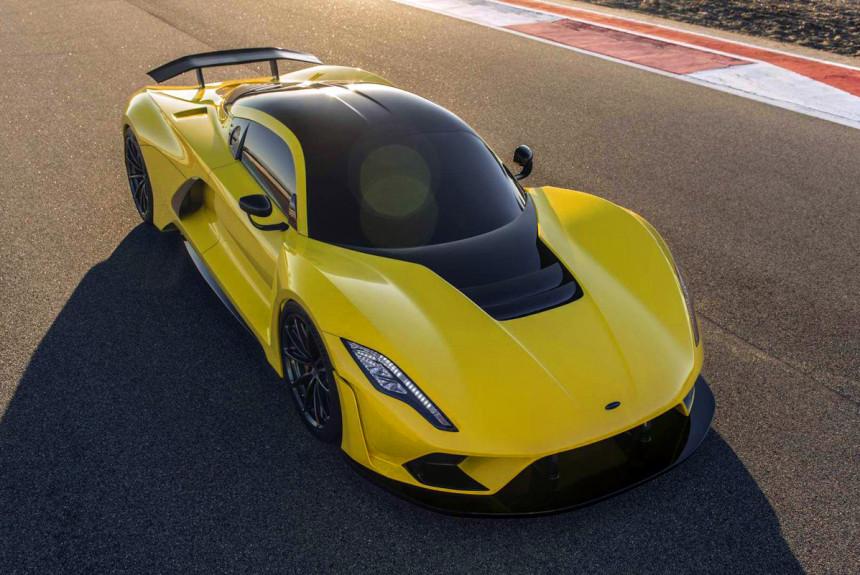 Гиперкар Hennessey Venom F5 сможет набрать более 500 км/ч