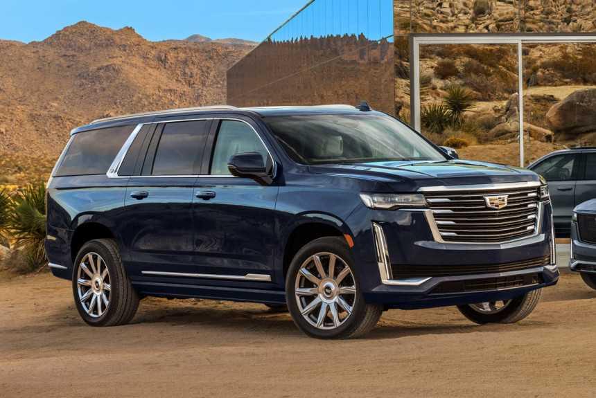 Засвечен удлиненный Cadillac Escalade ESV нового поколения