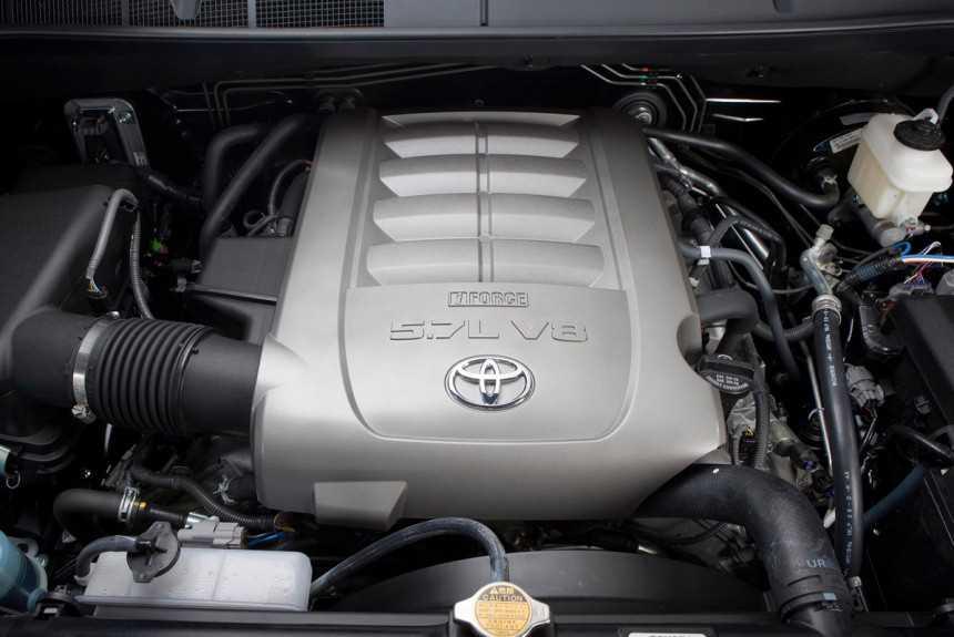 Toyota откажется от двигателей V8 в течение трех лет