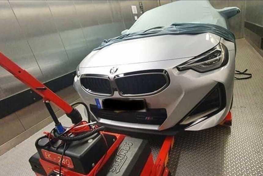 Новое купе BMW второй серии подловили без камуфляжа