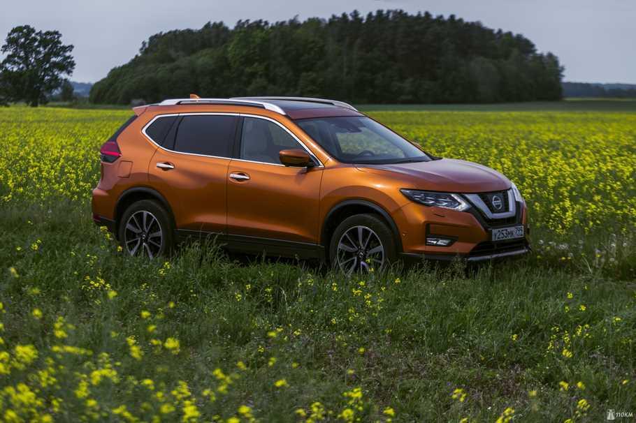 Тест драйв Nissan X Trail  за ним не заржавеет