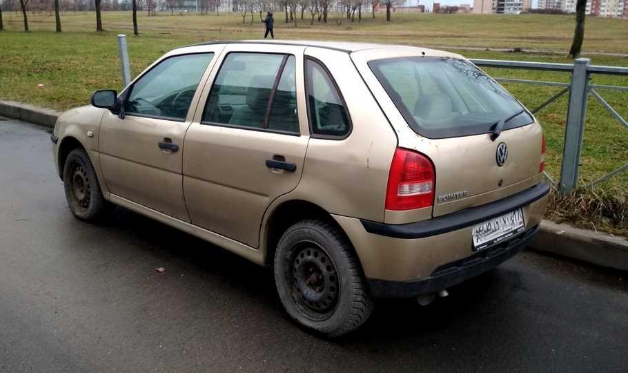 Секонд тест Volkswagen Pointer  малый ход